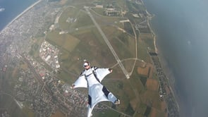 Wingsuit-Team Flybywire, Training over Sylt, July 2013