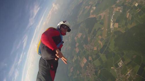 Phantom flight over Calden,Germany