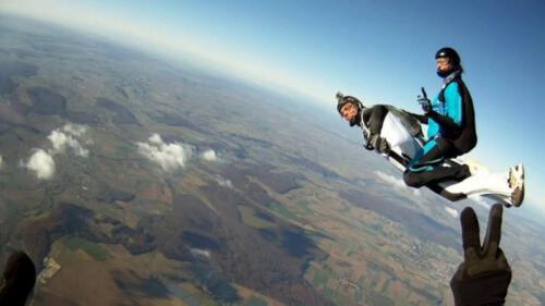 Wingsuit double Bullride